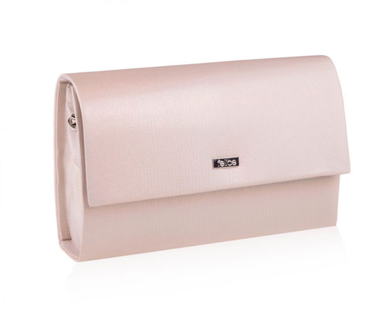 Women's Clutch bag Felice F13E beige