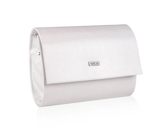 Women's Clutch bag Felice F14E pearl