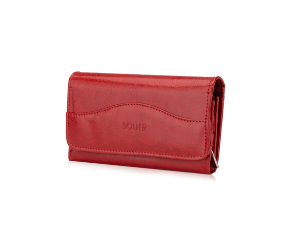 Elegant Women's leather wallet Felice P17