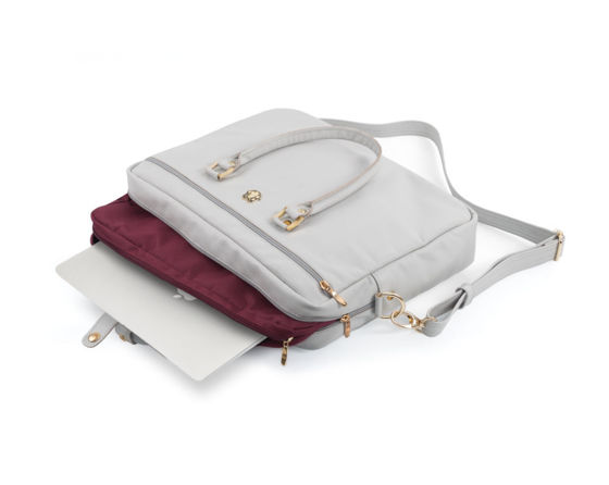 Felice Gold Marina elegant shoulder laptop bag