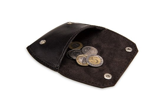 Leather coin wallet FELICE FA10 BROWN