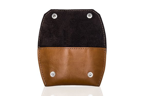 Leather coin wallet FELICE FA10 CAMEL