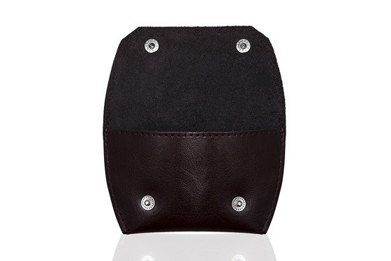 Leather coin wallet FELICE FA10 MAROON