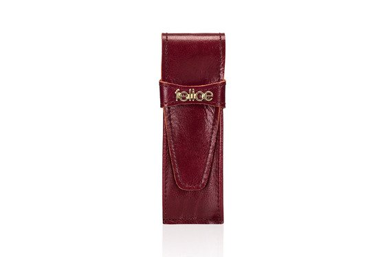 Leather pen case FA13 DEEP RED