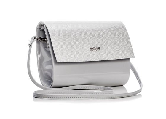Ligh grey women's Clutch bag Felice F14C LIGHT GREY PATTERN