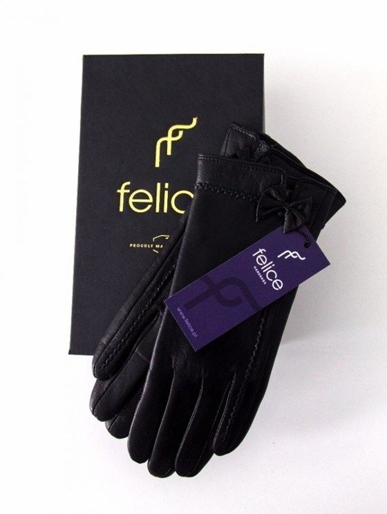 Long genuine leather woman's gloves FA19 S