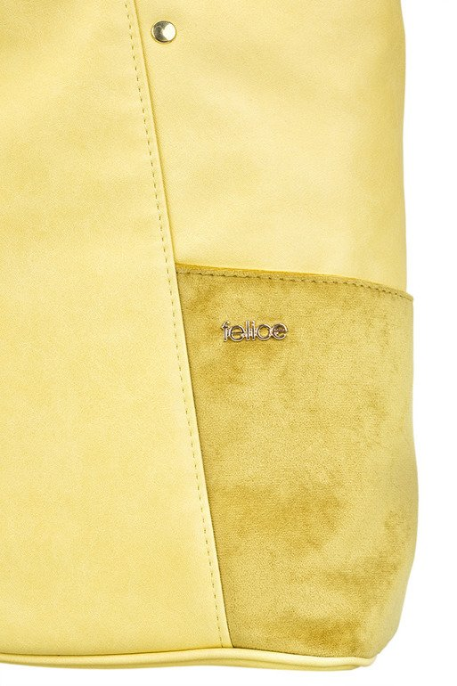 SHOPPER BAG FELICE FB03 BONITA-YELLOW