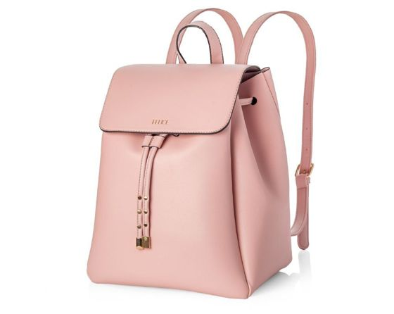 Woman's urban backpack Felice Molle FB35 pink