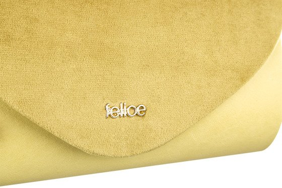 Women's Clutch bag Felice F15A mat/plush