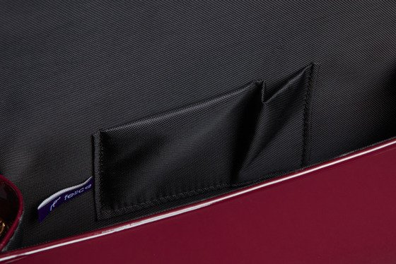Women's Clutch bag Felice F15B burgundy