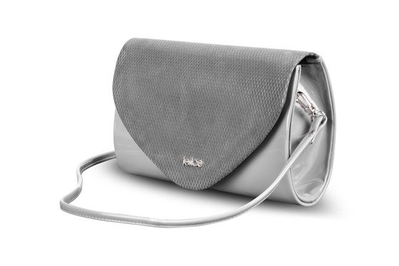 Women's Clutch bag Felice F15B dark grey