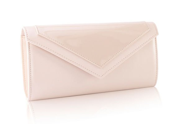 Women's Clutch bag with chain Felice F18 Beige