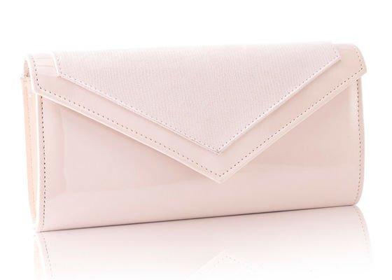 Women's Clutch bag with chain Felice F18 Cream