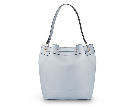 Women's drawstring shopper bag Felice Mia FB40 light blue