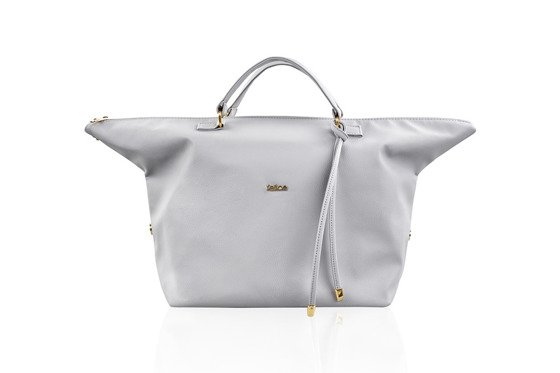 Women's shopper bag FB04 LOCA Light grey