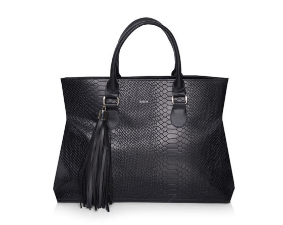 Women's shopper bag Felice FB44 black