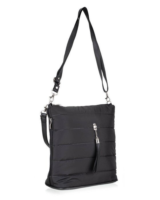 Women's shopper bag Felice FB47 blalck