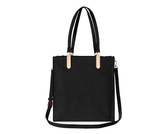 Women's shopper bag Felice Stella FB36 black