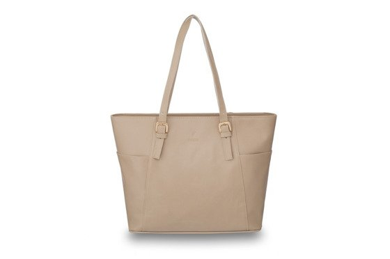 Women's shoulder bag Lisbona beige